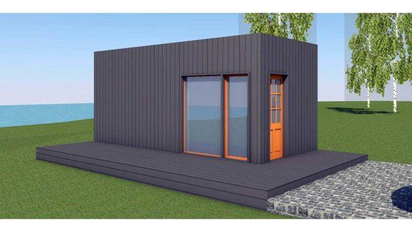 Saun Baltic CUBE 3x6