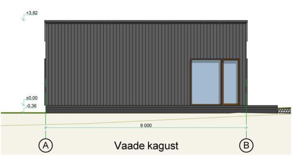 Saunamaja Baltic CUBE 3x9