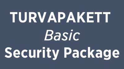 Turvapakett Basic Security Package